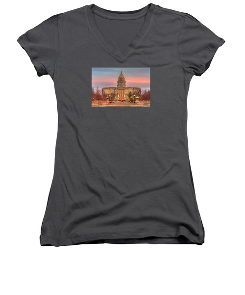 Colorado Capital Women's V-Neck