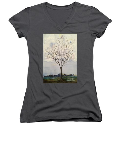 Colorado Cottonwood Women's V-Neck