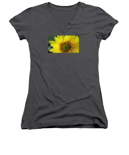 Colorado Wildflower Sunshine  Women's V-Neck (Athletic Fit)