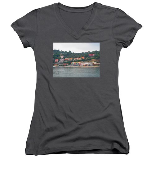 Colors Along The Coast Women's V-Neck (Athletic Fit)