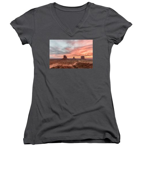 Colors In Monument Women's V-Neck