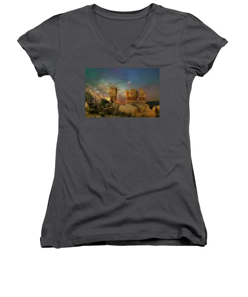 Colors Of Darkness Women's V-Neck