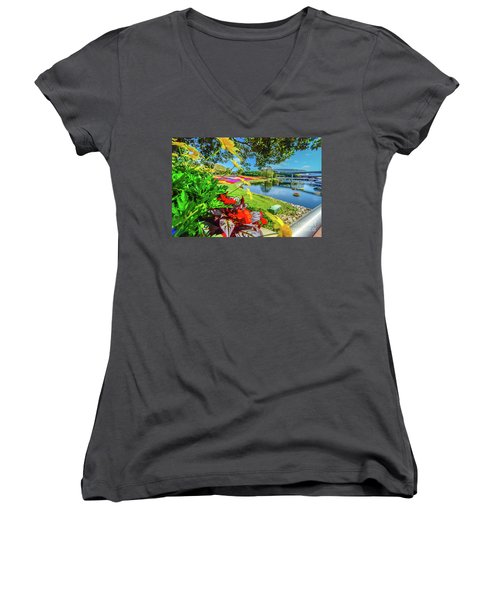 Florida Women's V-Neck