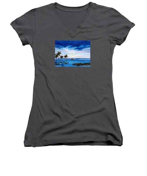 Colors On The Gulf Women's V-Neck T-Shirt