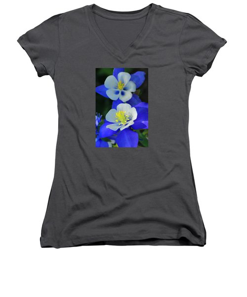 Columbine Day Women's V-Neck T-Shirt
