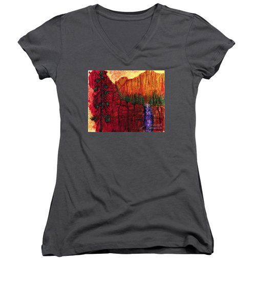 Come Away With Me  Women's V-Neck