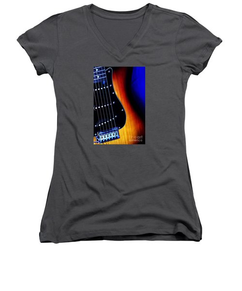Come Play With Me  Women's V-Neck T-Shirt (Junior Cut) by Stephen Melia