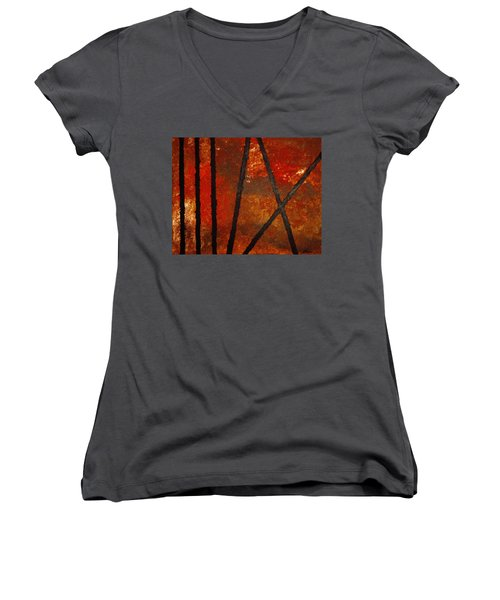 Coming Apart Women's V-Neck (Athletic Fit)