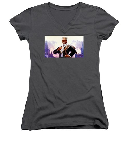 Coming To America Women's V-Neck