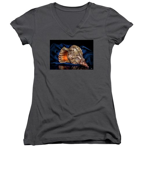 Conch Shell Women's V-Neck