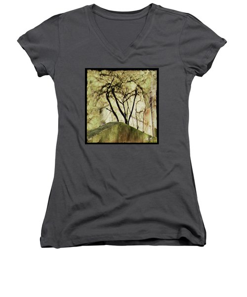 Concrete Jungle Women's V-Neck (Athletic Fit)