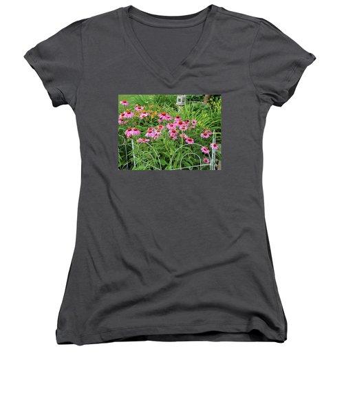 Cone Plants Women's V-Neck T-Shirt