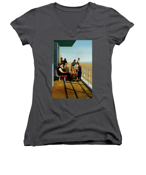 Coney Island Women's V-Neck (Athletic Fit)