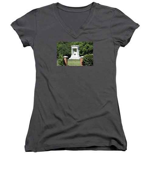 Confederate Memorial State Historic Park Women's V-Neck T-Shirt
