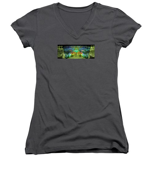 Confidence.. Women's V-Neck (Athletic Fit)