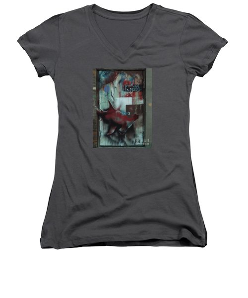 Confused Women's V-Neck (Athletic Fit)