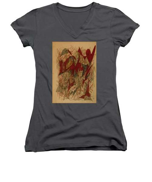 Conglomerate Synthesis  Women's V-Neck (Athletic Fit)