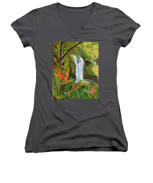 Conquest Of Paradise Women's V-Neck