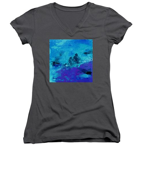 Consider The Heavens  Women's V-Neck