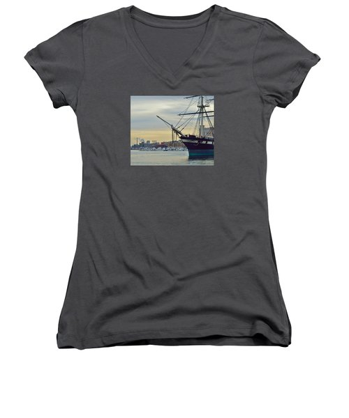 Constellation And Domino Sugars Women's V-Neck T-Shirt