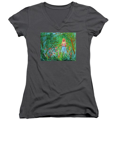 Contemplation Women's V-Neck