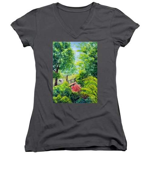 Contentment Women's V-Neck