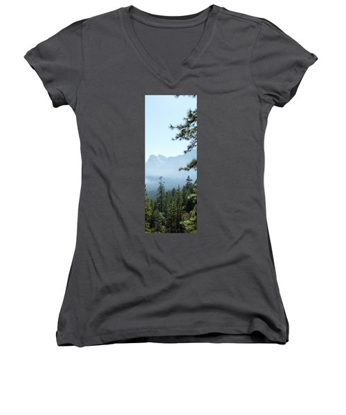 3 Of 4 Controlled Burn Of Yosemite Section Women's V-Neck