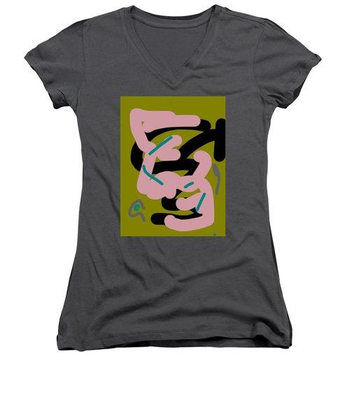 Conversation Women's V-Neck T-Shirt