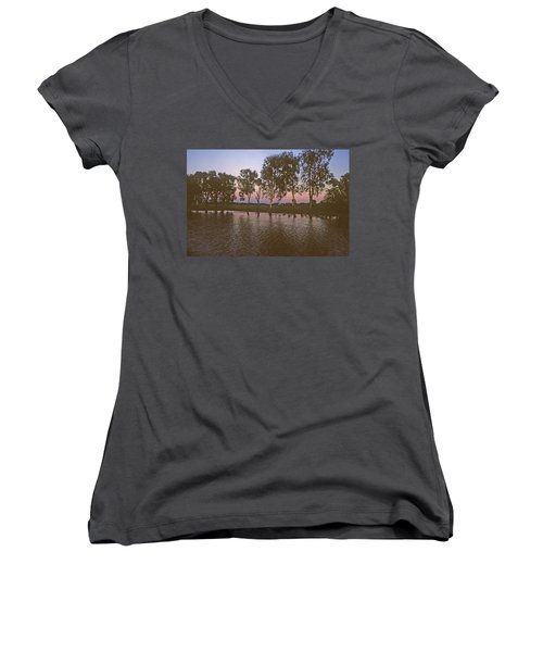 Cooinda Northern Territory Australia Women's V-Neck (Athletic Fit)
