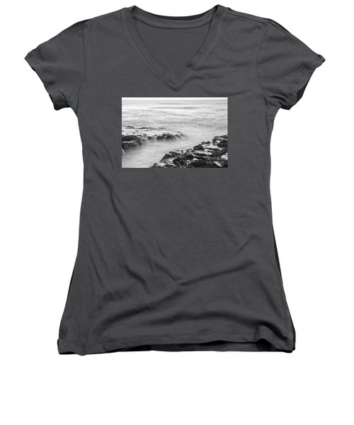 Cooks Chasm  Women's V-Neck T-Shirt (Junior Cut) by Billie-Jo Miller