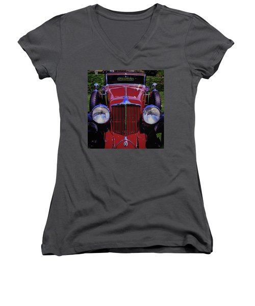 Cord Coupe Women's V-Neck