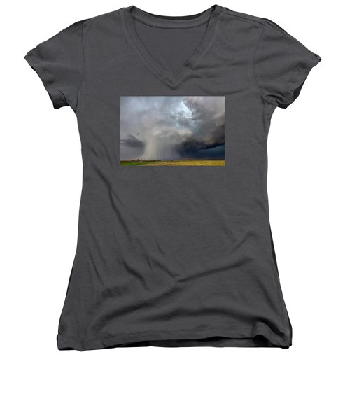 Cored Women's V-Neck (Athletic Fit)
