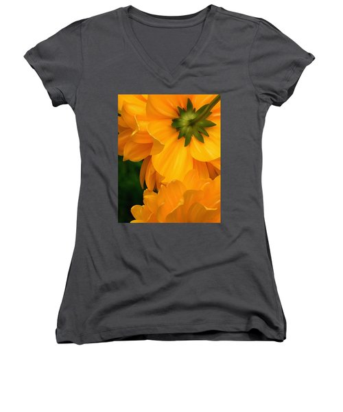 Coreopsis Women's V-Neck