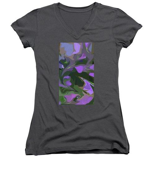 Corner Flower Shop  Women's V-Neck T-Shirt