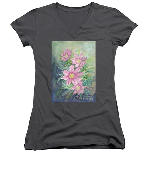 Cosmos - Painting Women's V-Neck T-Shirt