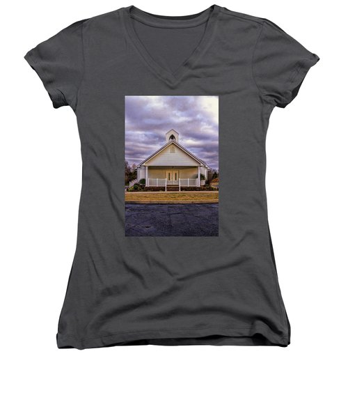 Country Church Women's V-Neck