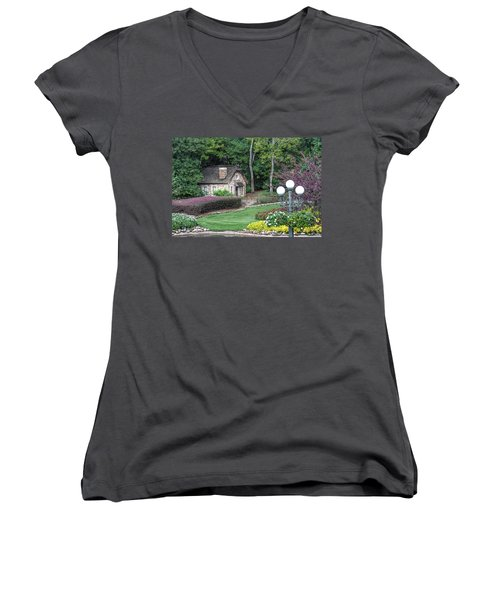 Country Cottage Women's V-Neck