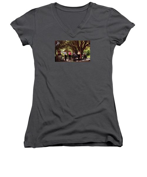 Country Music California Stage Women's V-Neck T-Shirt
