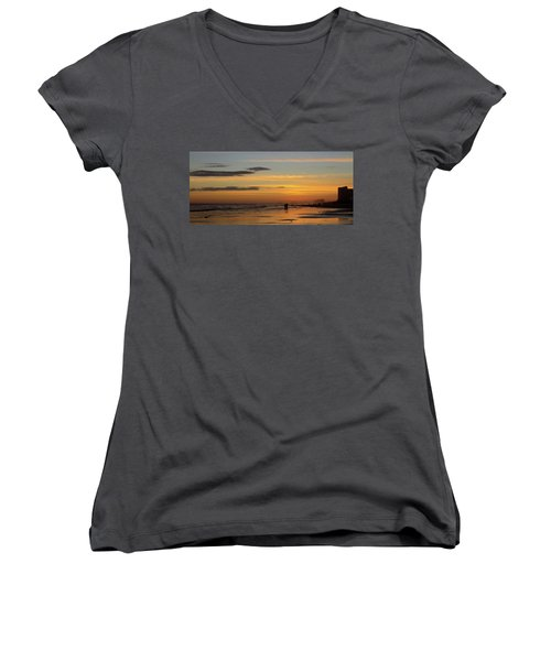 Couple Women's V-Neck