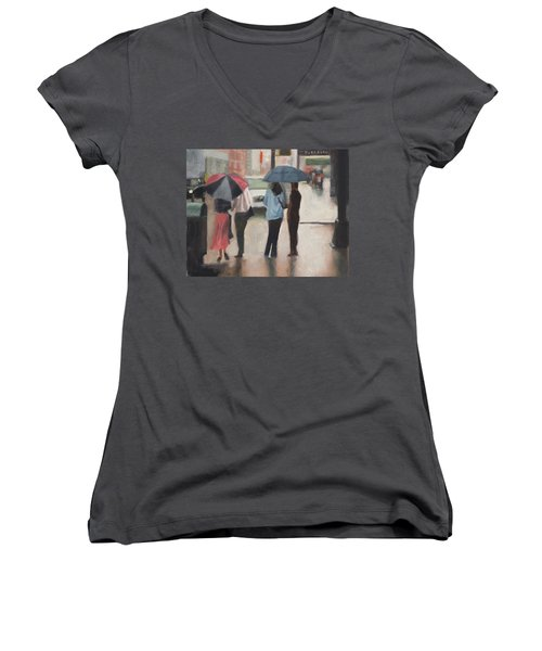 Couples Women's V-Neck (Athletic Fit)