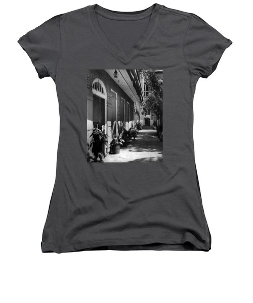 Courtyard Women's V-Neck T-Shirt