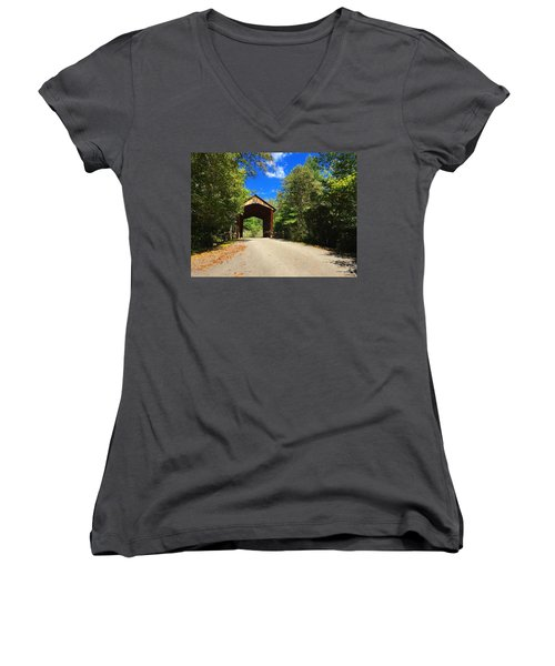 Bay's Bridge Women's V-Neck