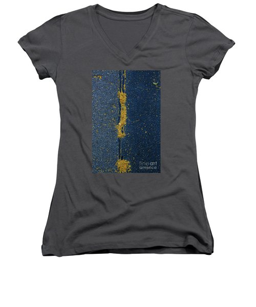 Cracked #4 Women's V-Neck