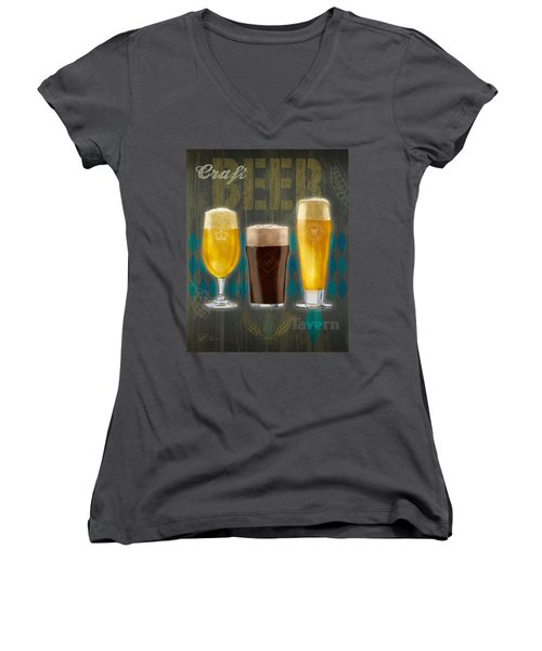 Craft Beer Women's V-Neck