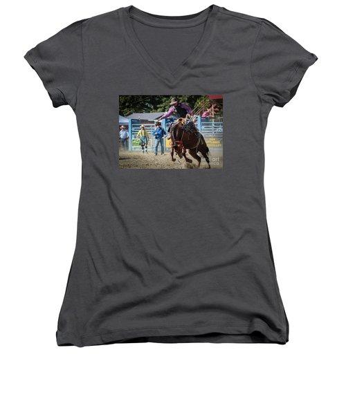 Crazy Horse Women's V-Neck