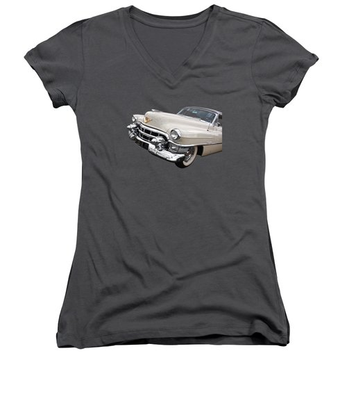 Cream Of The Crop - '53 Cadillac Women's V-Neck