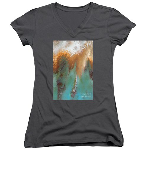 Created According To God. Ephesians 4 24 Women's V-Neck T-Shirt
