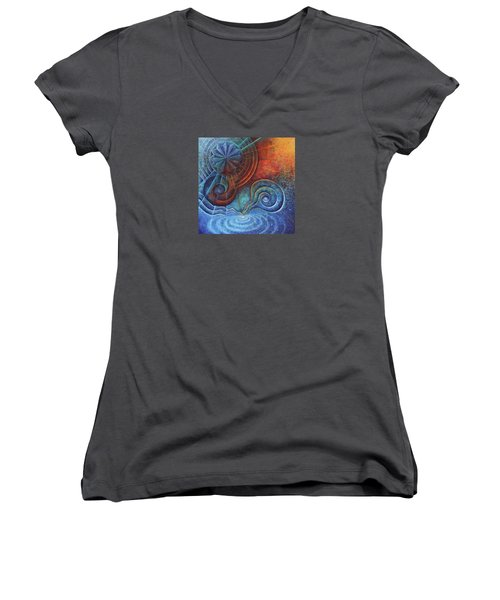 Creation Women's V-Neck T-Shirt