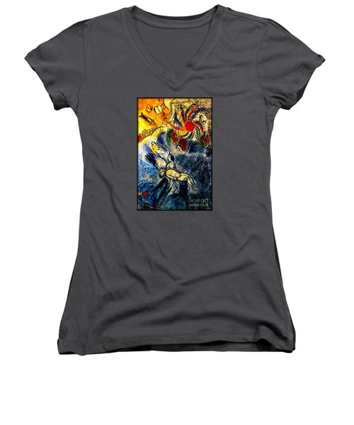 Creation Women's V-Neck T-Shirt