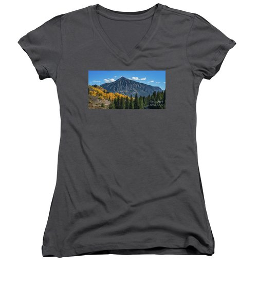 Crested Butte Mountain Women's V-Neck